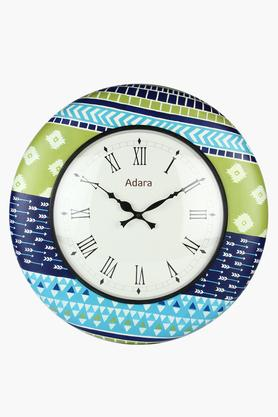 ADARA Round Analogue Wall Clock With Roman Markers - 204072295_9332