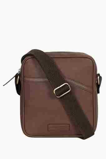 Mens Zipper Closure Sling Bag