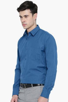 Mens Slim Fit Slub Shirt