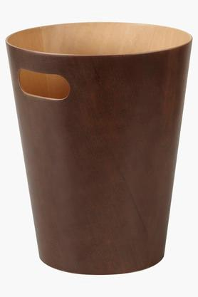 UMBRA Open Top Woodrow Can Espresso Dustbin