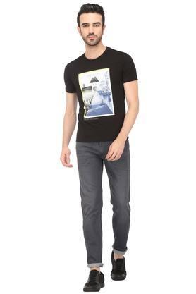 Mens 5 Pocket Whiskered Effect Jeans (511)
