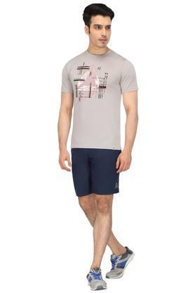 Mens 2 Pocket Solid Shorts