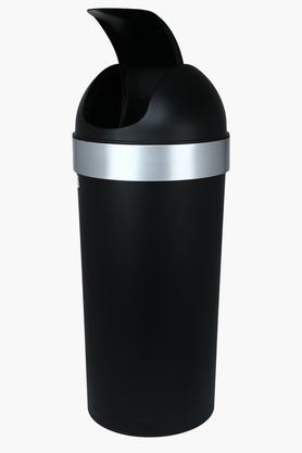 Solid Round Dustbin with Swing Top