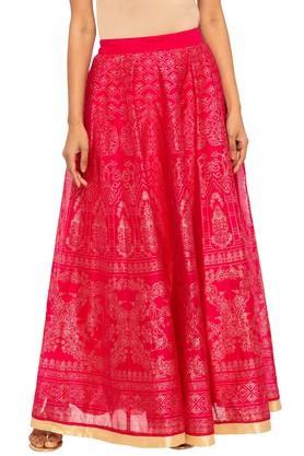 KASHISHWomens Printed Layered Skirt