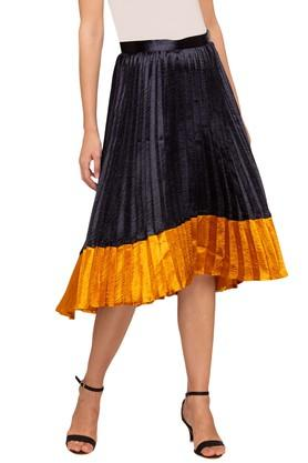 VERO MODA Womens Colour Block Skirt