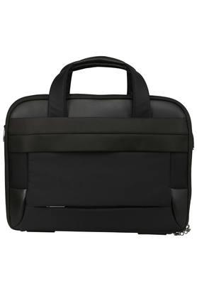Mens Zip Closure Laptop Briefcase