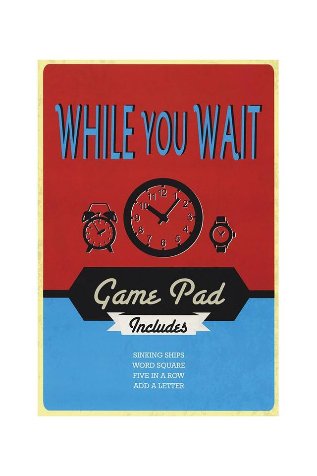 While You Wait Game Pad