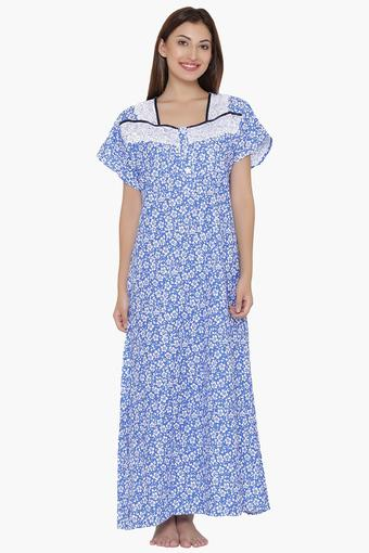 CLOVIA -  Blue Nightwear - Main