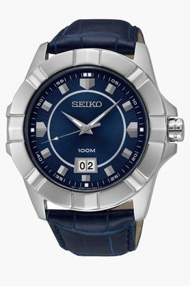 SEIKO Mens Lord Analog Blue Dial Watch - SUR133P1