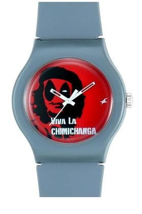 FASTRACKUnisex Analogue Silicone Watch