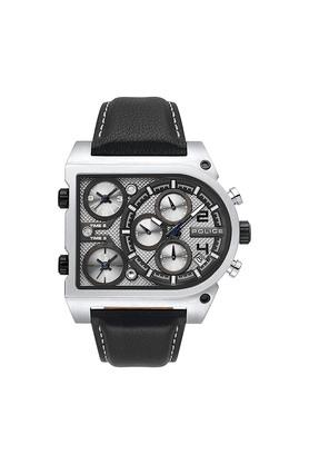 POLICEMens Silver Dial Chronograph Watch