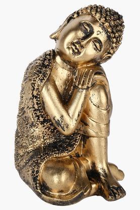 Gold Finish Knee Rest Buddha