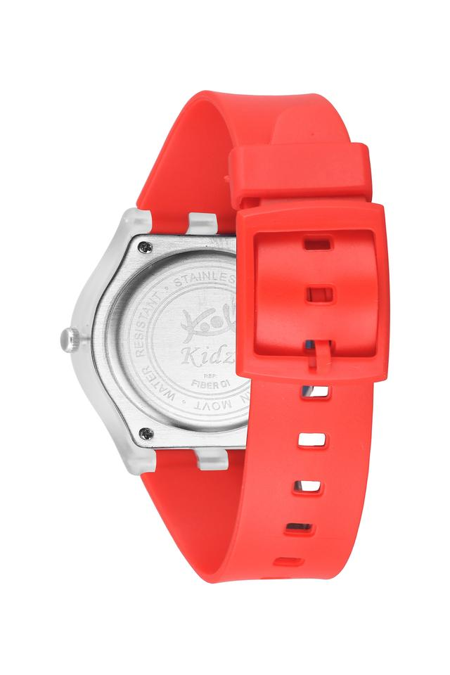 Unisex Plastic Analogue Watch - FIBER01RD01