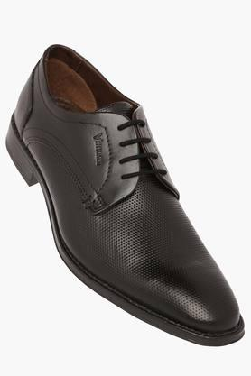 VENTURINI Mens Leather Lace Up Derby - 203381552