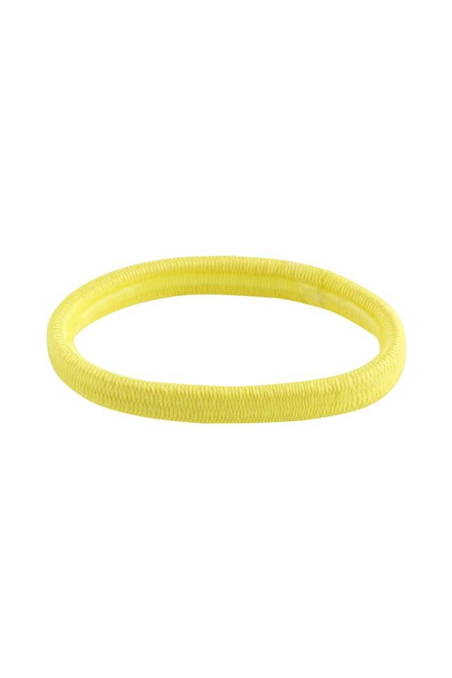Girls Solid Hair Rubber Bands Pack of 10