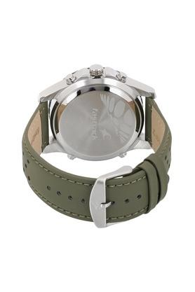 Mens Chronograph Digital Leather Watch - 38035SL03