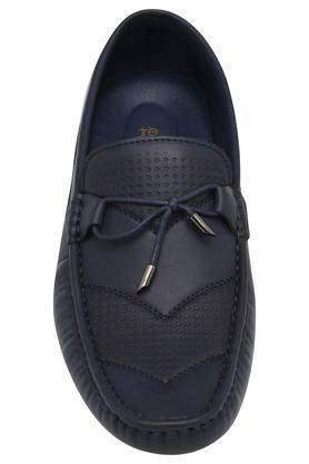 Mens Leather Slipon Moccasins