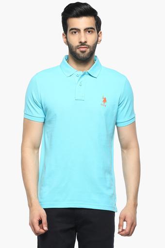 U.S. POLO ASSN. -  BlueT-shirts - Main