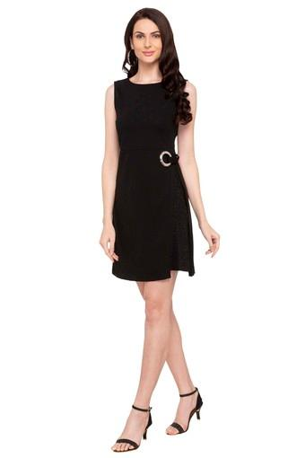DEAL JEANS -  Black Dresses - Main