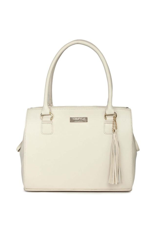 TRUFFLE COLLECTION - Beige Satchel - Main