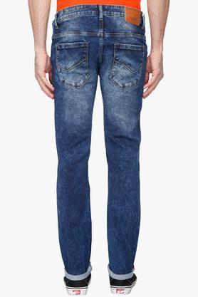 Mens Slim Fit Stone Wash Jeans (Matt Fit)
