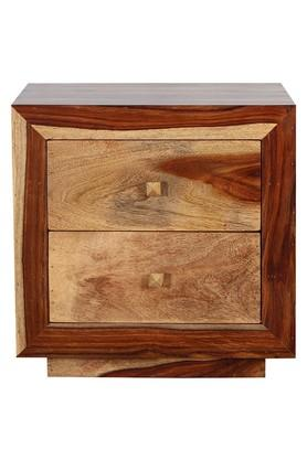 Brown Miley Bed Side Table