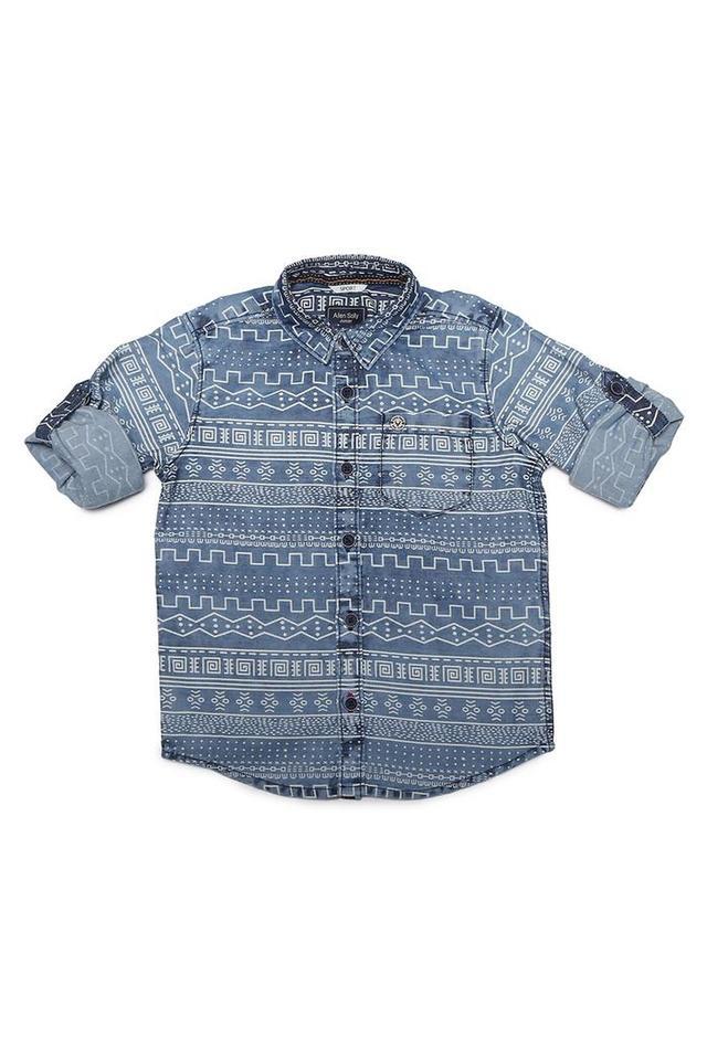 Boys Printed Casual Shirt