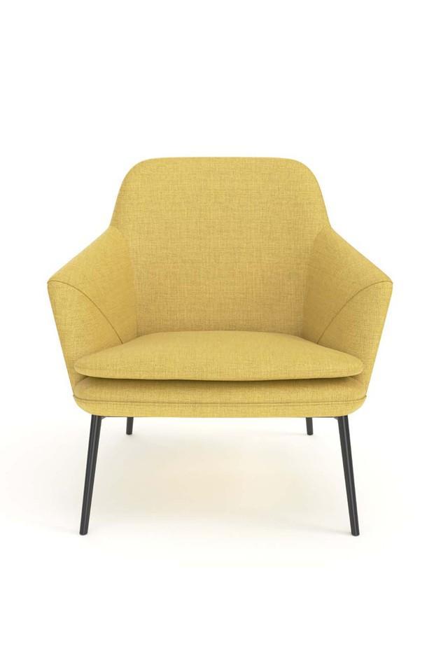 Yellow Gauc sofa