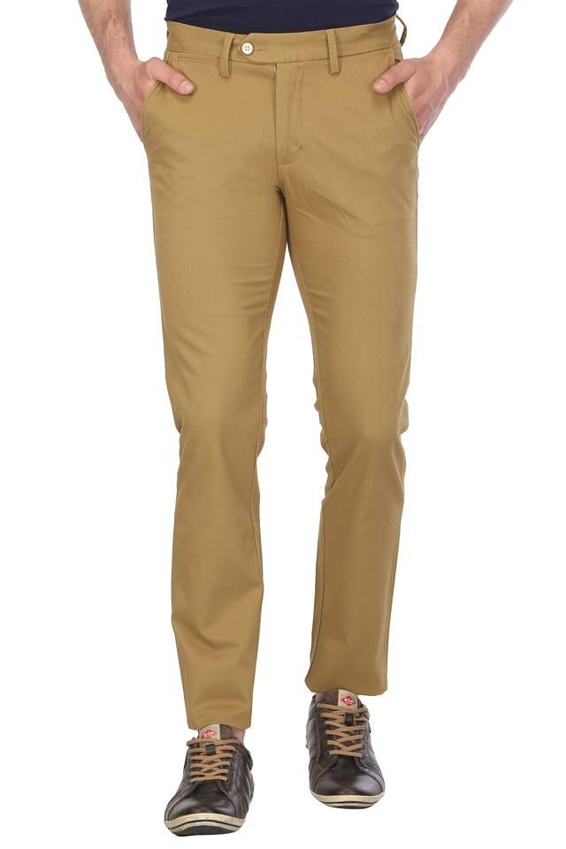 ALLEN SOLLY - KhakiCasual Trousers - Main