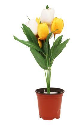 IVYDecorative Orange Yellow Potted Tulip