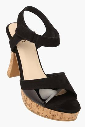 INC.5 Womens Party Wear Velcro Closure Heels