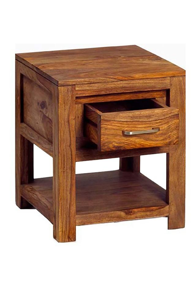 Brown Healy Bed Side Table