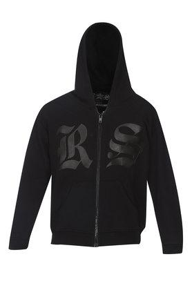 Boys Hooded Printed Sweatshirt