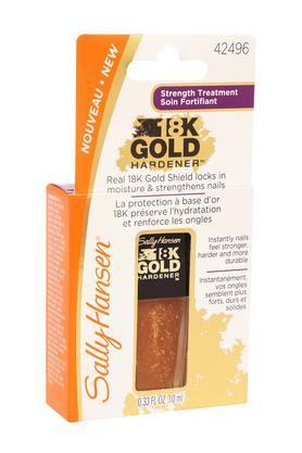 18K Gold Hardener Nail Polish