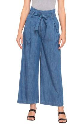 Womens 3 Pocket Heavy Wash Pants