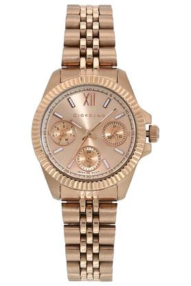 Womens Gold Dial Multi-Function Watch - GD-2032-11