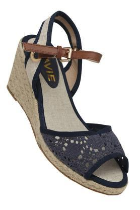 LAVIEWomens Casual Wear Buckle Closure Wedges - 202520306_9324