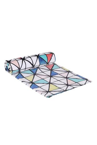 Geometric Printed Bath Towel