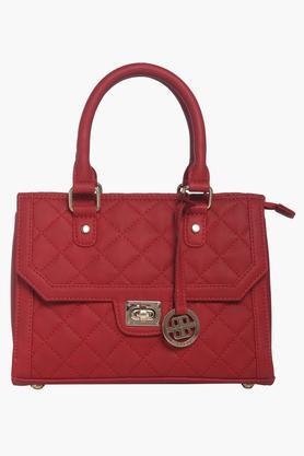 PEPERONEWomens Zipper Closure Satchel Handbag - 204024368_9607