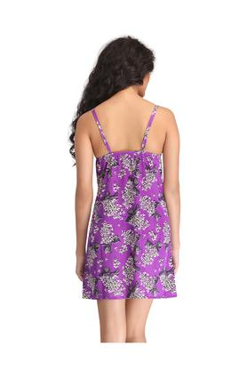 Womens Floral Print Baby Doll
