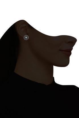 Womens Silver Plated Stud Earrings