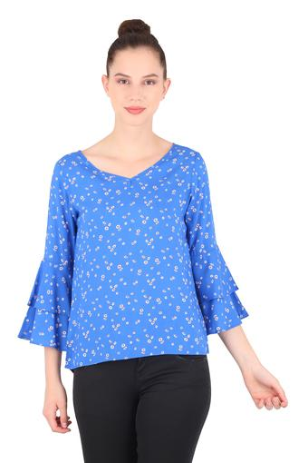 FRATINI WOMAN -  Cobalt Tops & Tees - Main