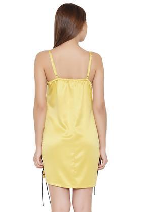 Womens Spaghetti Neck Lace Night Dress