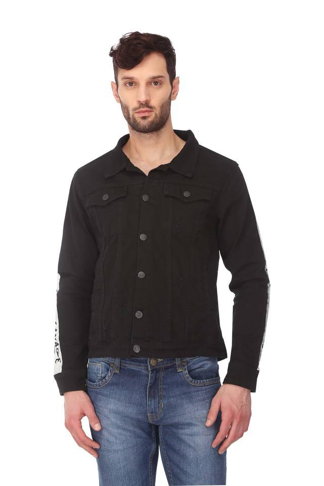 Mens Distressed Casual Jacket