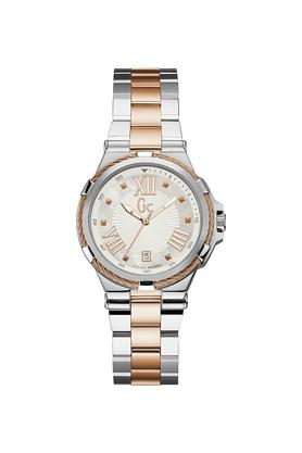 Womens Sport Chic Collection Stainless Steel Analogue Watch - Y34008L1
