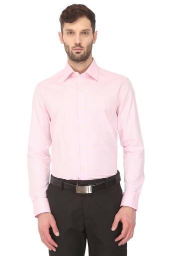Mens Classic Fit Printed Formal Shirt