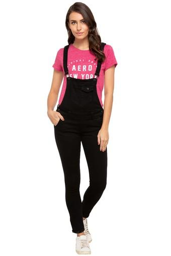 DEAL JEANS -  BlackPalazzos & Jumpsuits - Main