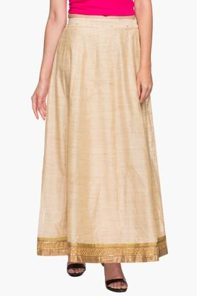 KASHISH Womens Printed Long Skirt