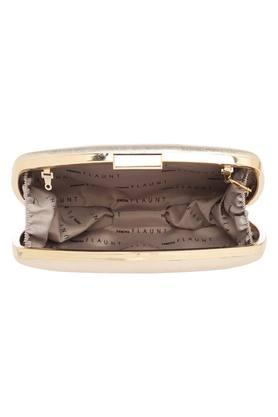 Womens Party Wear Hook and Loop Closure Sling Clutch