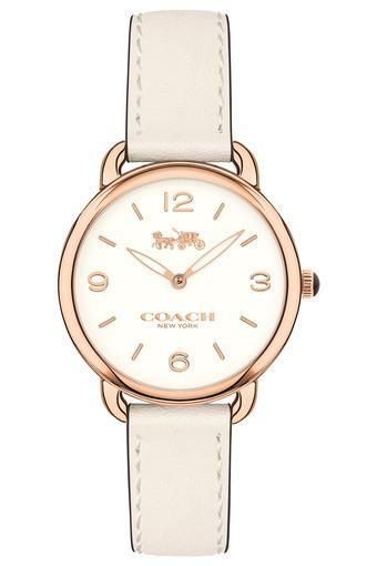 Womens Delancey Slim Leather Strap Watch - 14502790